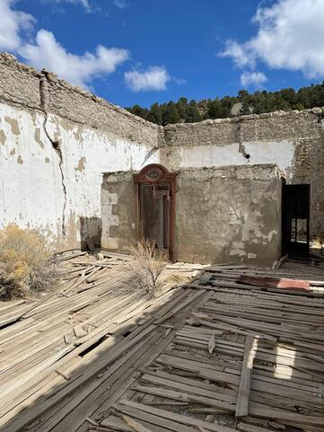 Abandoned Bank
