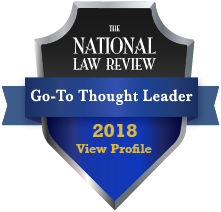 The National Law Review Go-To Thought Leader 2018